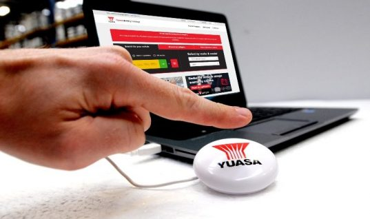 Yuasa to give away battery lookup 'smart button'