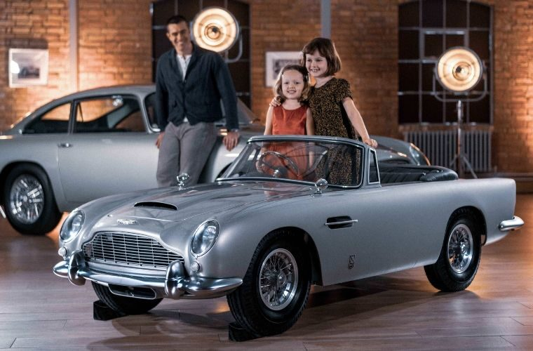 Scaled down Aston Martin DB5 'toy' boasts top speed of 30mph