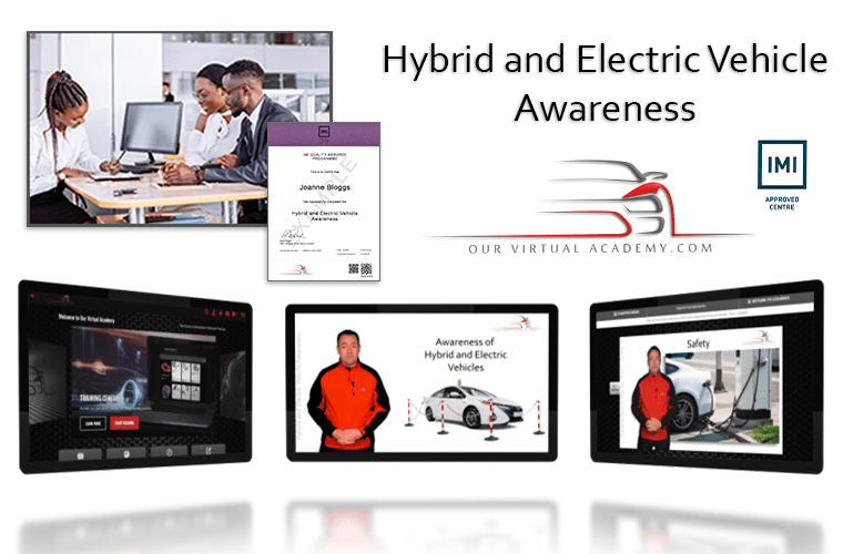 Exclusive Our Virtual Academy deal on IMI-certified hybrid and EV training