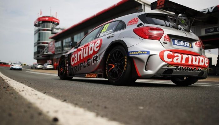 Adam Morgan has hopes dashed at Brands Hatch