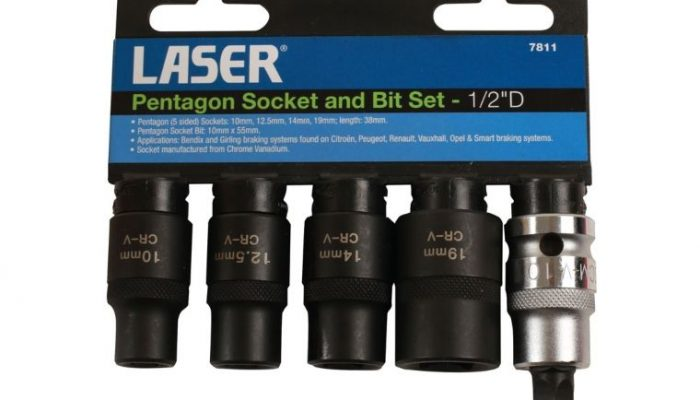Bendix and Girling braking system sockets from Laser Tools