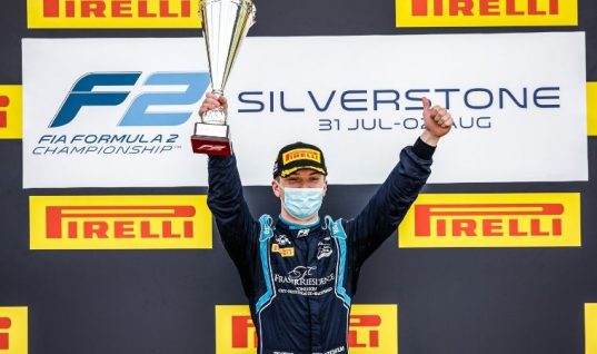Silverstone win for DAMS F2 Lucas Oil car