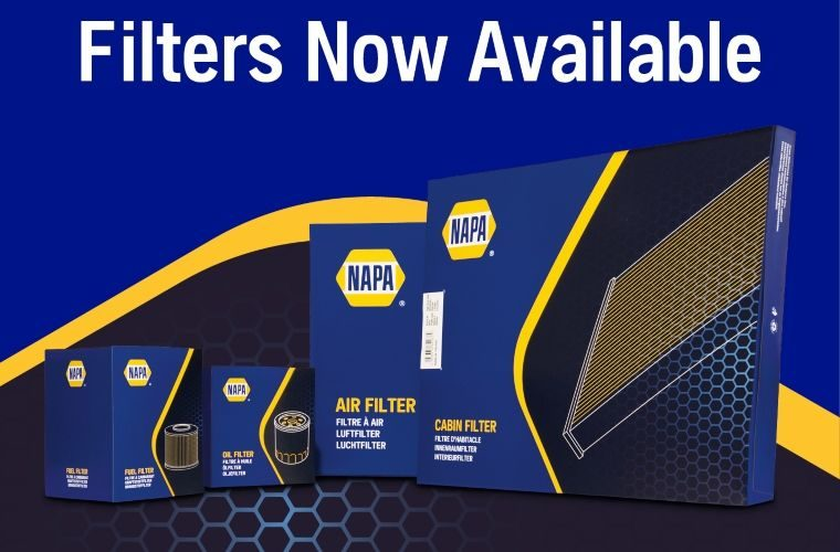 NAPA adds filters to automotive parts range