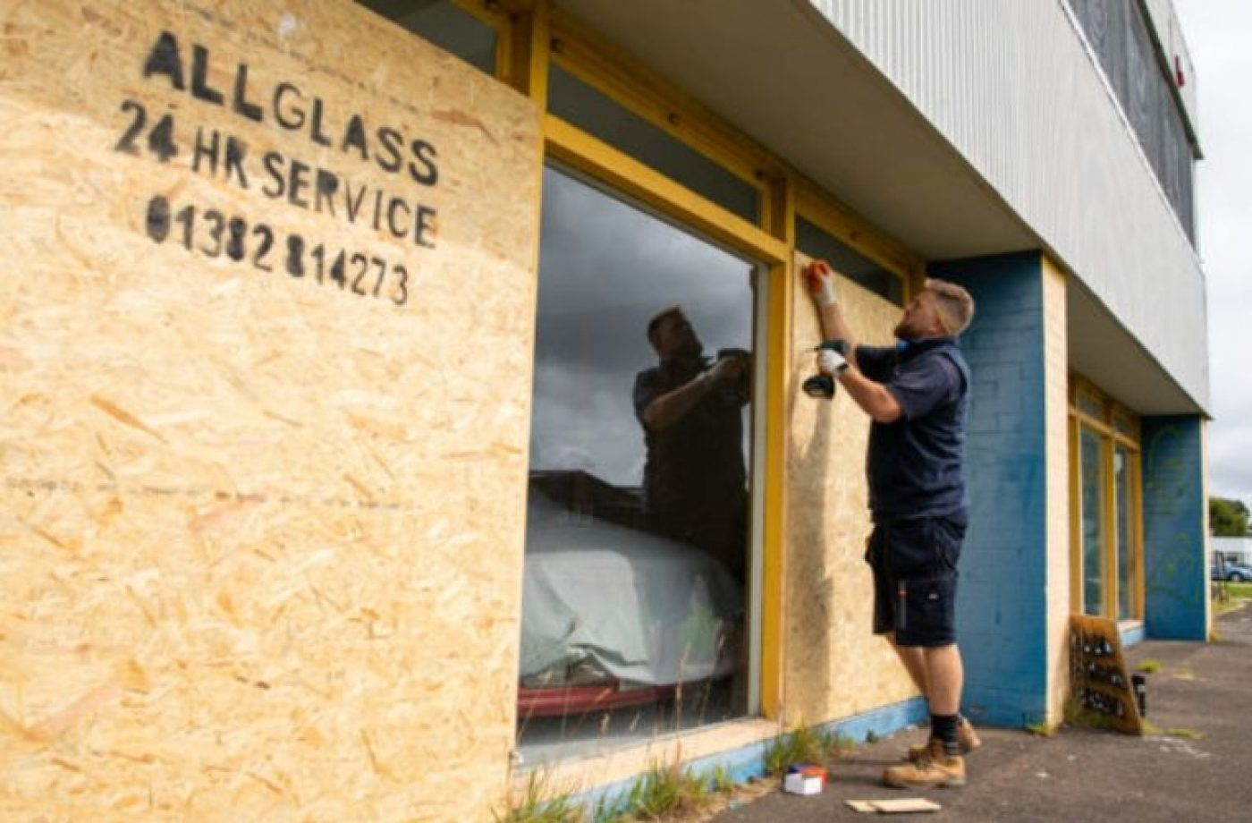 Garage owner offers reward for information following vandalism attack on business