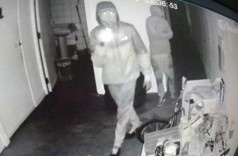 Somerset garage victim of high value raid