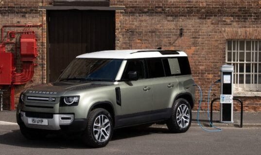 Land Rover to release its first plug-in hybrid Defender