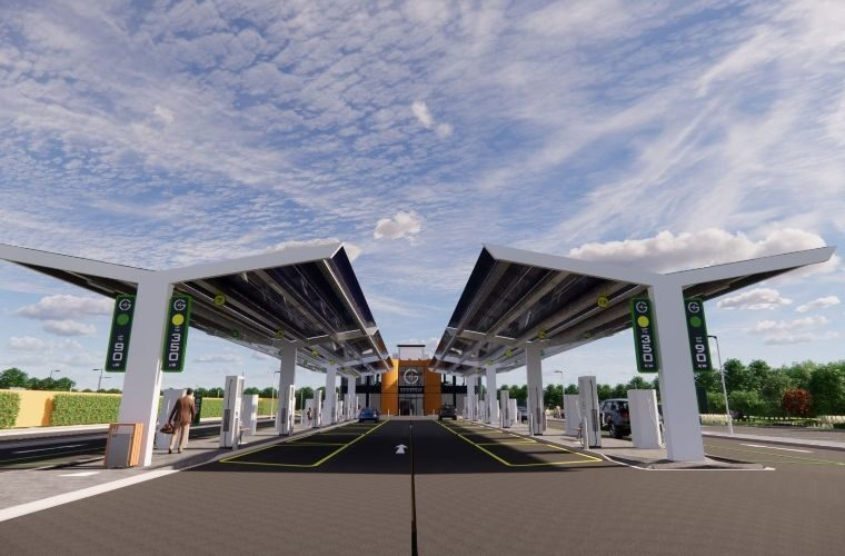 UK's first EV charging station to open