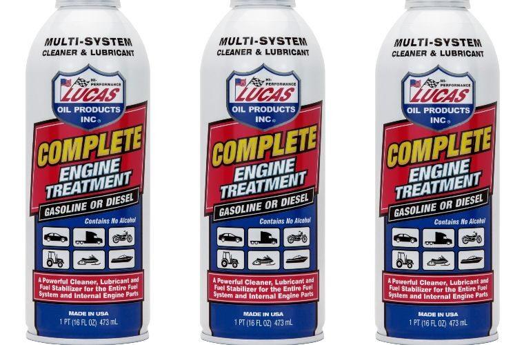Lucas Oil complete engine treatment