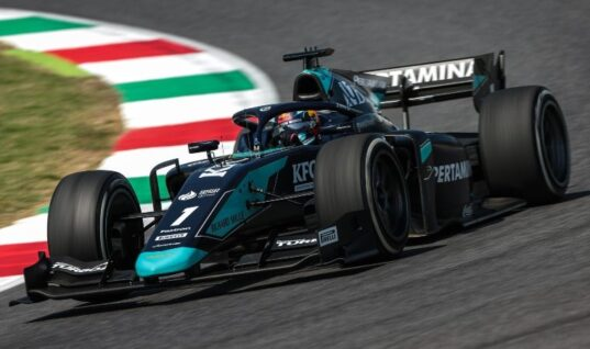 DAMS driver secures podium  Lucas Oil in Italy