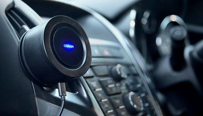 OSRAM to launch UV light car cleaner