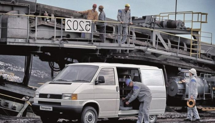Volkswagen Group celebrates 30 years since start of T4 production