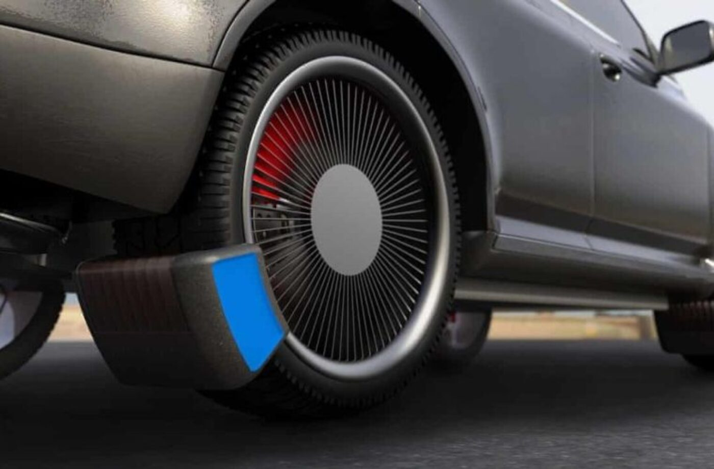 Device that significantly reduces tyre emissions gets James Dyson Award