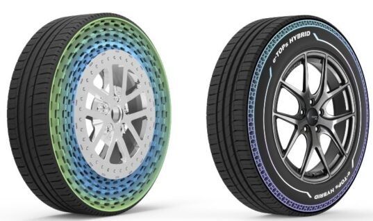 Ground-breaking new airless and hybrid tyres recognised with award