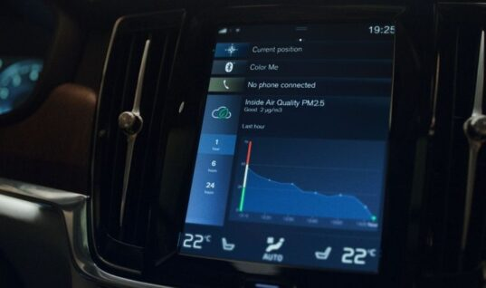 """Volvo launches """"world first"""" to eradicate pollutants from cabin"""