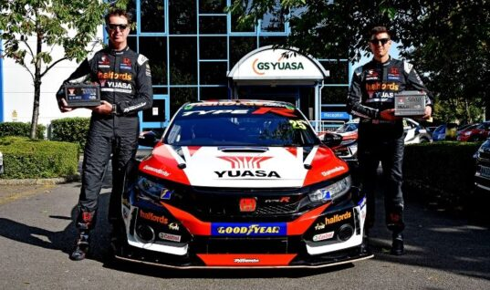 Yuasa celebrates ten years in BTCC with special livery and exclusive competition