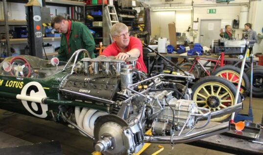 National Motor Museum opens workshop for customer cars