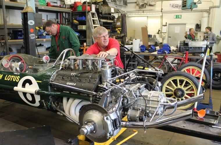 National Motor Museum opens workshop for customer cars
