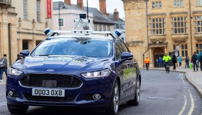 UK's first on-road autonomous vehicle trials begin