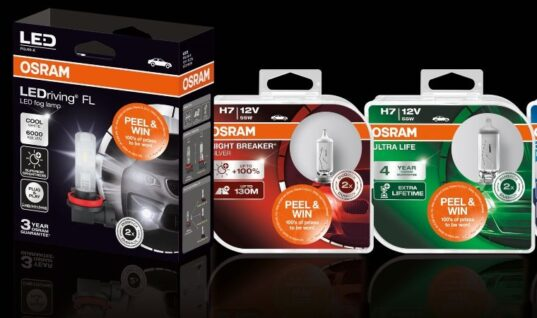 Prizes up for grabs in OSRAM 'peel & win' promotion