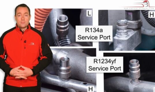 Refrigerant identification covered in latest Our Virtual Academy training