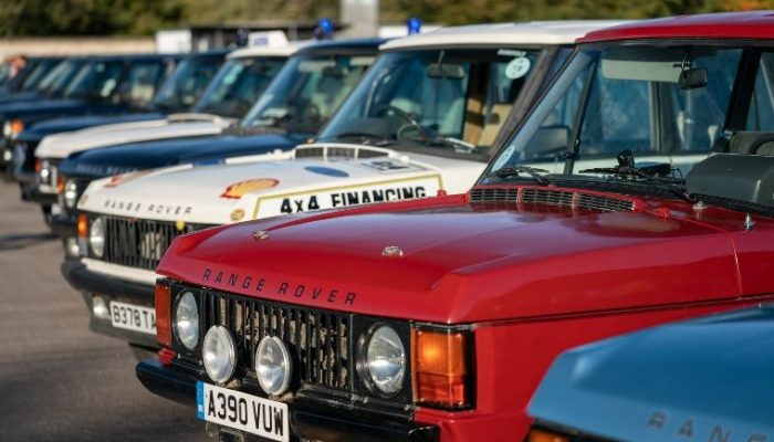 Land Rover celebrates 50 years of Range Rover at Goodwood