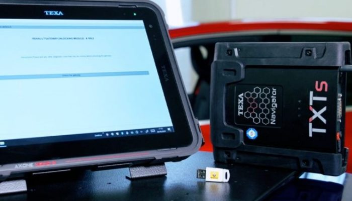 TEXA diagnostic devices granted access to Renault information protection gateway