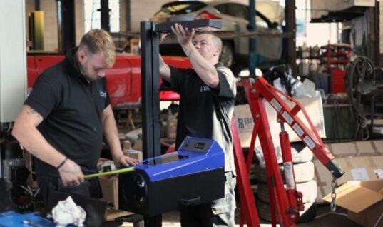 Video: York garage gets new V-Tech ATL class four bay