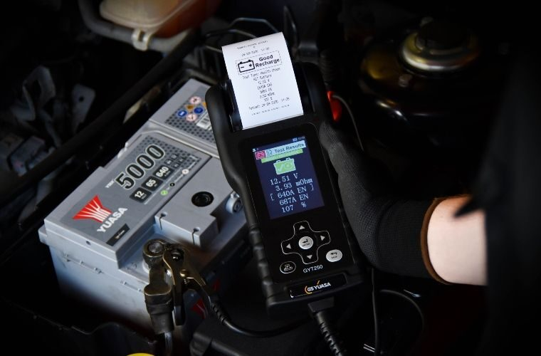 """GS Yuasa launches """"revolutionary"""" multi-functional battery and electrical system tester"""