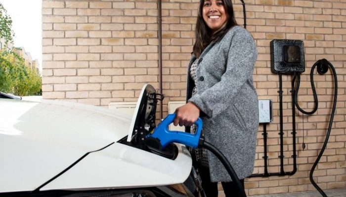 First 'vehicle to grid' EV chargers installed as part new trial to combat possible capacity shortages