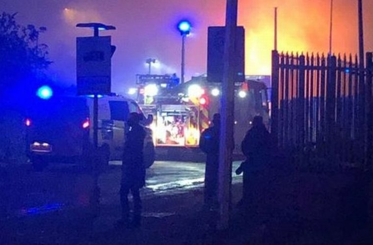 Investigation launched following Cardiff workshop blaze