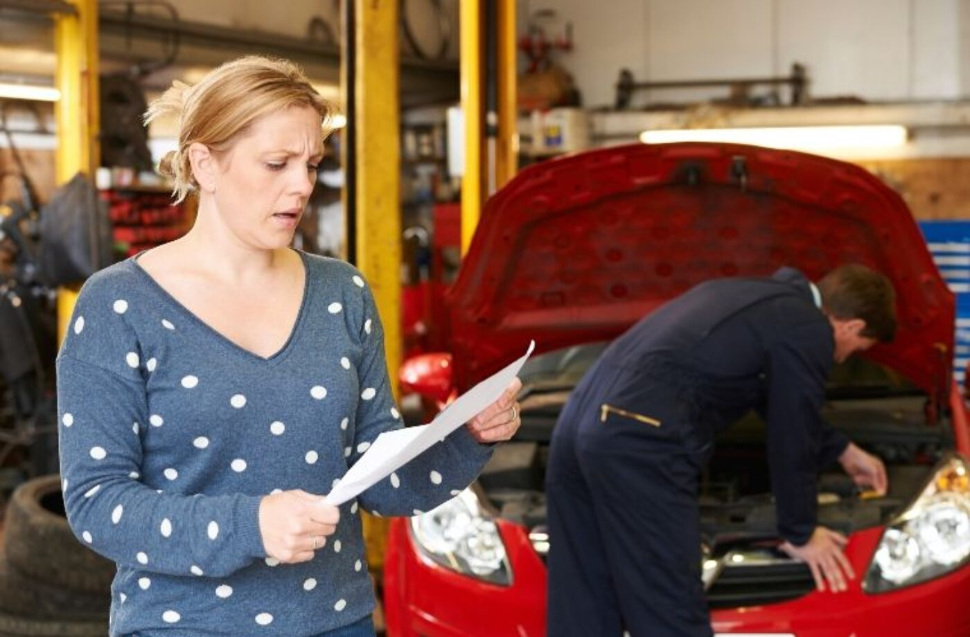 'Garage speak' baffling majority of customers, RAC says