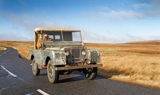 First-ever production Land Rover restored
