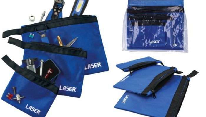 Tool pouch set from Laser Tools