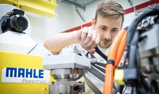 MAHLE invests three million euros in new electric drive test bench
