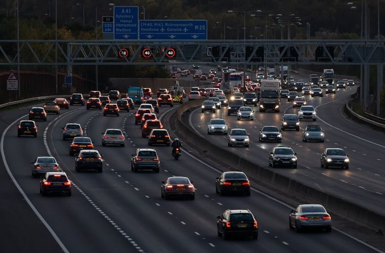 Less than five per cent of England's smart motorways has breakdown-detecting tech