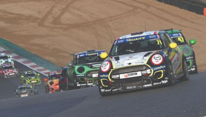NGK-sponsored Coates finishes strongly in 2020 Mini challenge