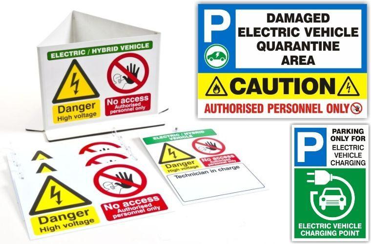 Electric and hybrid vehicle signage savings at Prosol