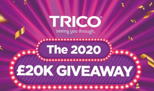 TRICO launches £20k giveaway