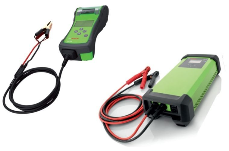 Bosch battery tester and charger savings at Hickleys