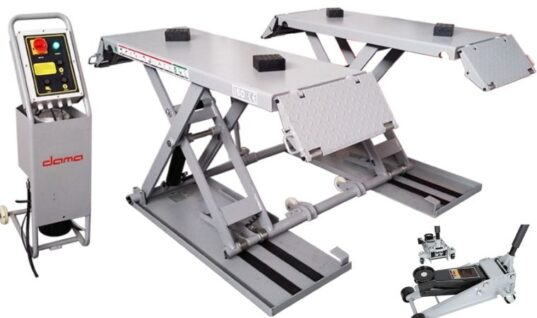 Dama three tonne mobile scissor lift from Hickleys