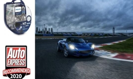 Philips RacingVision GT200 is  Auto Express 'recommended buy'