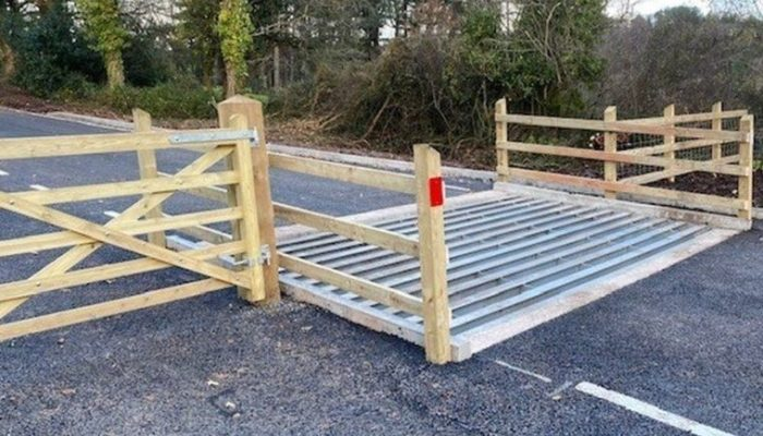 ADAS cars mistake Somerset cattle grid for solid wall