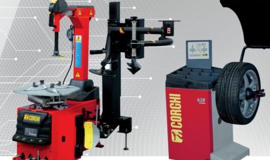 Free EXPEL 30 and Autodrain with Corghi Proline tyre changer and wheel balancer