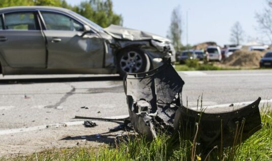 Banned mechanic crashes customer's car on test drive
