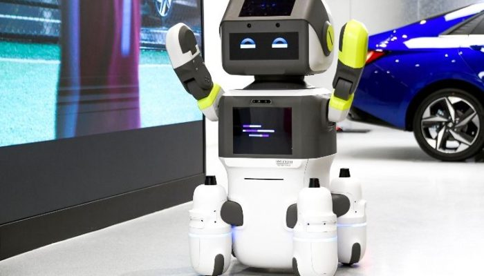 Hyundai launches customer service robot pilot for showrooms