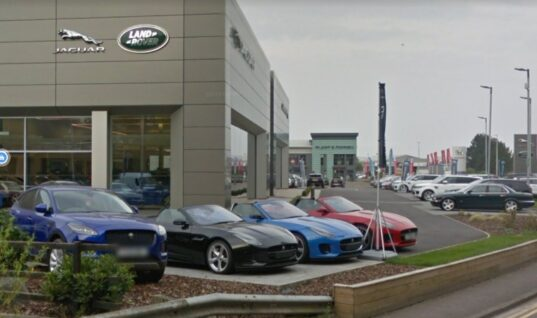 Man jailed for 'inept' attempt at stealing £40k Jag from dealership