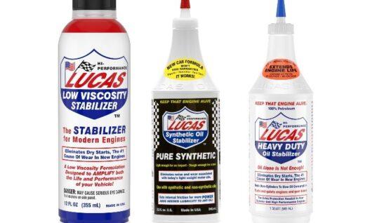 Lucas Oil 'engine oil stabilizer'