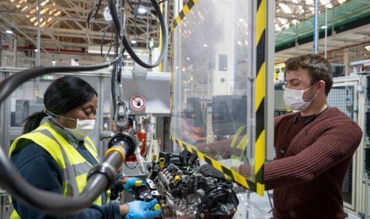 UK car production slumps to lowest total since 1984