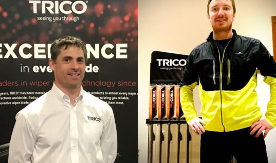 TRICO duo's daily 5K runs generates £1K for charity