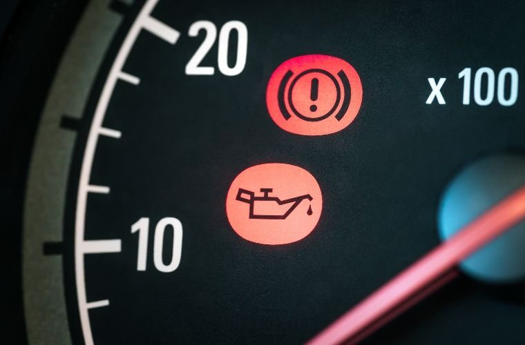 Dashboard warning lights ignored by almost half of drivers